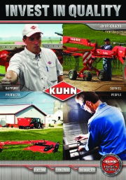 Kuhn MM 300 MM 900 Merge Maxx GA 9032 SR 600 GF 10802 VT 180 GMD 3550 TL PSC 181 8124 890 Agricultural Catalog page 1
