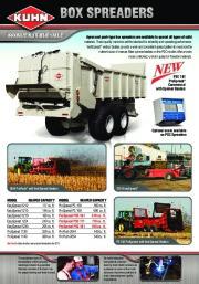 Kuhn MM 300 MM 900 Merge Maxx GA 9032 SR 600 GF 10802 VT 180 GMD 3550 TL PSC 181 8124 890 Agricultural Catalog page 10