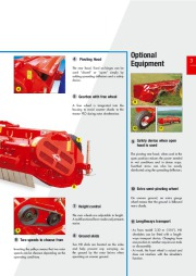 Kuhn NK 2801 NK 3201 NK 4001 M NK 4801 Field Shredders Agricultural Catalog page 3