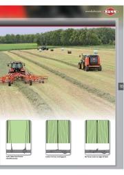 Kuhn VB VBP Variable Chamber Round Balers 2160 2190 Agricultural Catalog page 11
