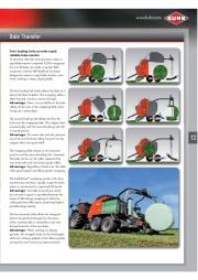 Kuhn VB VBP Variable Chamber Round Balers 2160 2190 Agricultural Catalog page 13