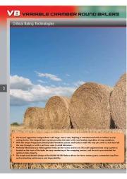 Kuhn VB VBP Variable Chamber Round Balers 2160 2190 Agricultural Catalog page 4