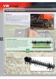 Kuhn VB VBP Variable Chamber Round Balers 2160 2190 Agricultural Catalog page 6