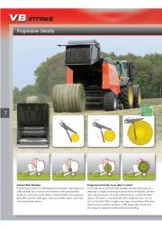 Kuhn VB VBP Variable Chamber Round Balers 2160 2190 Agricultural Catalog page 8