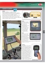 Kuhn VB VBP Variable Chamber Round Balers 2160 2190 Agricultural Catalog page 9