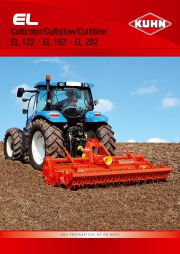 Kuhn GF EL SOIL PREPARATION AT ITS BEST EL Agricultural Catalog page 1