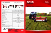 Kuhn GMD 283 TG 313 TG GMD Disc Mowers Agricultural Catalog page 1