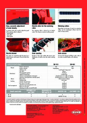 Kuhn SH S E RII E 110 1 0 Small Seed Drill Agricultural Catalog page 2