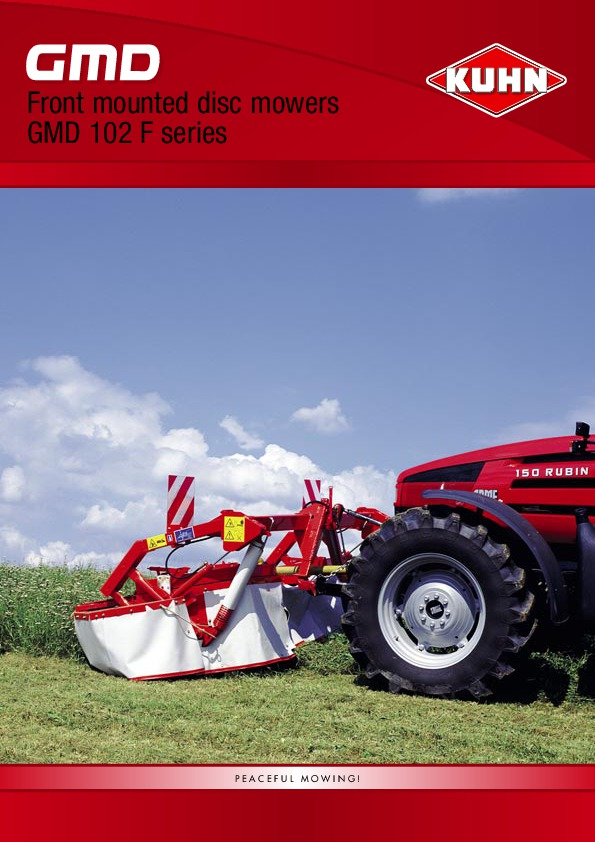 kuhn gmd 702 disc mower manual