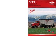 Kuhn Knight VTC Vertical Maxx Commercial Twin Auger TMR Mixers 800 1100 Catalog page 1