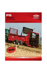 Kuhn Knight PS ProSpread 500 600 Heaped Cubic Feet Agricultural Catalog page 1