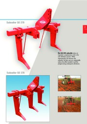Kuhn SO Subsoilers SO 270 370 Agricultural Catalog page 3