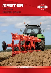 Kuhn MASTER 102 Series Reversible Ploughs 2 Agricultural Catalog page 1