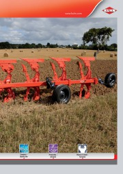 Kuhn MASTER 102 Series Reversible Ploughs 2 Agricultural Catalog page 3