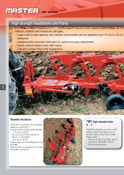Kuhn MASTER 102 Series Reversible Ploughs 2 Agricultural Catalog page 4