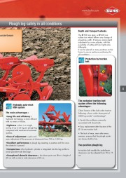 Kuhn MASTER 102 Series Reversible Ploughs 2 Agricultural Catalog page 5