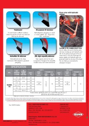 Kuhn MASTER 102 Series Reversible Ploughs 2 Agricultural Catalog page 8