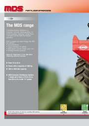 Kuhn MDS MDS 10 24 Agricultural Catalog page 2