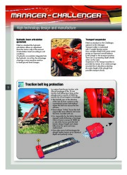 Kuhn MANAGER CHALLENGER Semi Mounted Ploughs Agricultural Catalog page 10