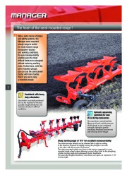 Kuhn MANAGER CHALLENGER Semi Mounted Ploughs Agricultural Catalog page 4
