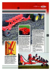 Kuhn MANAGER CHALLENGER Semi Mounted Ploughs Agricultural Catalog page 5