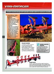 Kuhn MANAGER CHALLENGER Semi Mounted Ploughs Agricultural Catalog page 6