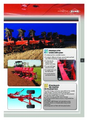 Kuhn MANAGER CHALLENGER Semi Mounted Ploughs Agricultural Catalog page 7