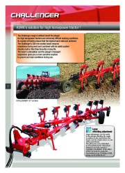 Kuhn MANAGER CHALLENGER Semi Mounted Ploughs Agricultural Catalog page 8