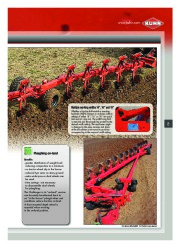 Kuhn MANAGER CHALLENGER Semi Mounted Ploughs Agricultural Catalog page 9