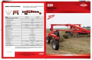 Kuhn Speed Rake SR 600 GII Agricultural Catalog page 1