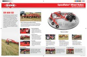 Kuhn Speed Rake SR 600 GII Agricultural Catalog page 2