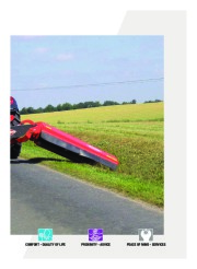 Kuhn SPRING LONGER Verge Mowers Agricultural Catalog page 3