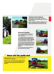 Kuhn SPRING LONGER Verge Mowers Agricultural Catalog page 5