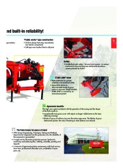Kuhn SPRING LONGER Verge Mowers Agricultural Catalog page 7