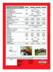 Kuhn SPRING LONGER Verge Mowers Agricultural Catalog page 8