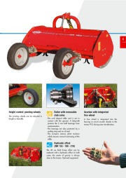 Kuhn RM VK VKD Vineyardchard Shredders Agricultural Catalog page 5