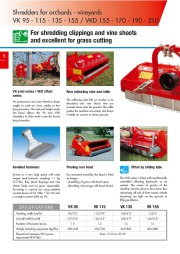 Kuhn RM VK VKD Vineyardchard Shredders Agricultural Catalog page 6
